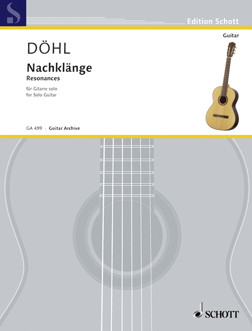 Resonancias doehl, doehl, doehl, de nombres de Friedhelm Guitarra 9790001097499  los nuevos estilos calientes